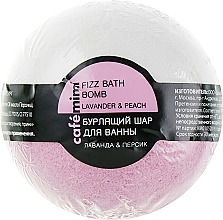 "Fragrances, Perfumes, Cosmetics Fizzy Bath Bomb ""Lavender & Peach"" - Cafe Mimi Bubble Ball Bath"