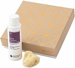Fragrances, Perfumes, Cosmetics Set - Biofficina Toscana Red Berry Harmony Set (miccelar/100ml + sponge)