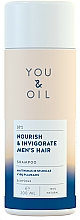 Fragrances, Perfumes, Cosmetics Hair Shampoo 'Nourishing and Refreshing' - You&Oil Nourish & Invigorate Men's Hair Shampoo