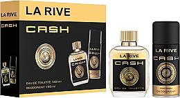 Fragrances, Perfumes, Cosmetics La Rive Cash - Set (edt/100ml + deo/150ml)