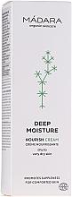 Fragrances, Perfumes, Cosmetics Deep Moisturizing Face Cream - Madara Cosmetics EcoFace
