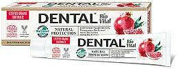 Fragrances, Perfumes, Cosmetics Natural Protection Pomegranate Toothpaste - Dental Bio Vital Natural Protection Toothpaste