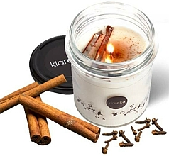 Fragrances, Perfumes, Cosmetics Cinnamon & Cloves Scented Candle - Klareko