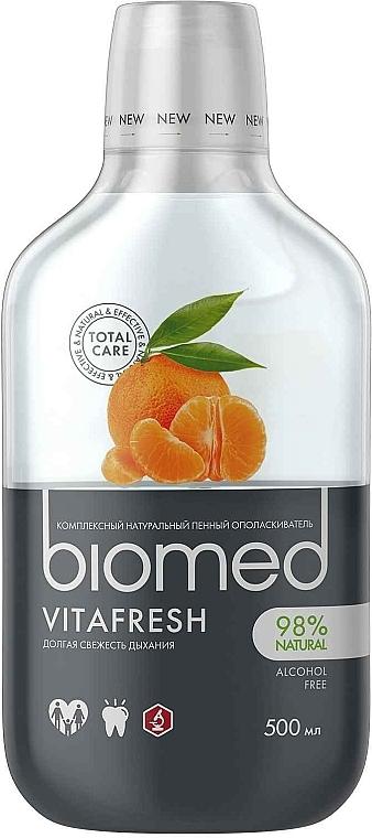 "Antibacterial Mouthwash for Fresh Breath ""Citrus"" - Biomed Citrus Fresh Mouthwash"