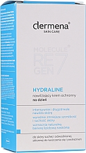 Fragrances, Perfumes, Cosmetics Moisturizing Protective Day Cream - Dermena Skin Care Hydraline Cream
