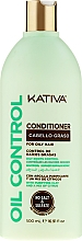 Fragrances, Perfumes, Cosmetics Oily Hair Conditioner - Kativa Oil Control Conditioner