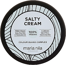 Fragrances, Perfumes, Cosmetics Light Hold Hair Styling Cream - Maria Nila Salty Cream
