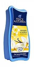 Fragrances, Perfumes, Cosmetics Freshener - Felce Azzurra Gel Air Freshener Vanilla & Monoi