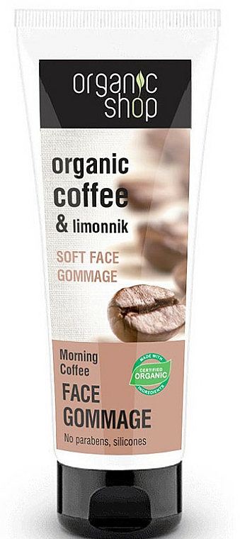 """Face Gommage """"Morning Coffee"""" - Organic Shop Gommage Face"""