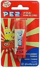Fragrances, Perfumes, Cosmetics Strawverry & Vanilla Lip Balm - PEZ Strawberry Vanilla Lip Balm