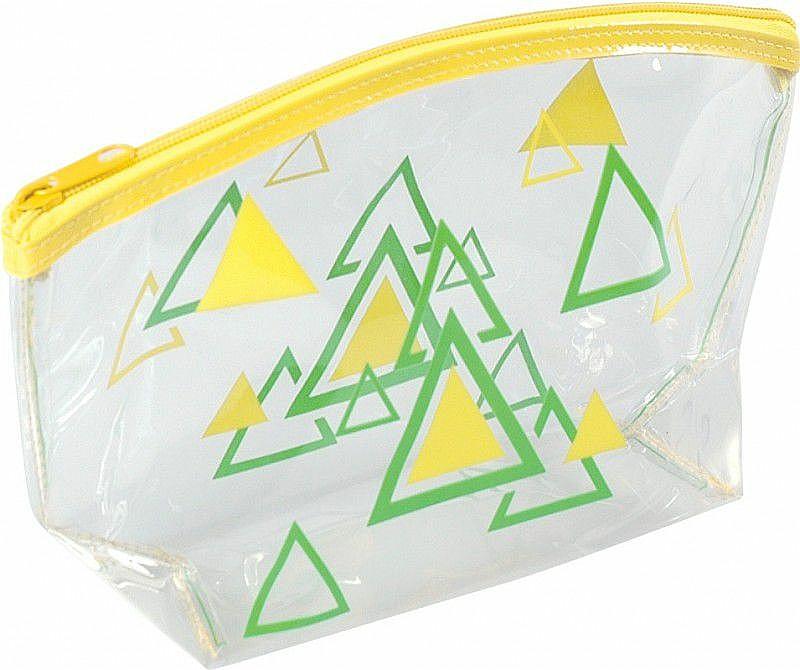 Women's Makeup Bag, 93517, yellow - Top Choice Triangles