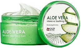 Fragrances, Perfumes, Cosmetics Moisturizing Face & Body Gel with Aloe Vera - SNP Intensive Snail Soothing Gel