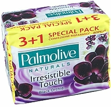 "Fragrances, Perfumes, Cosmetics Soap Set ""Black Orchid"" - Palmolive Naturals Irresistible Touch Set"