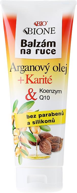 Hand Balm - Bione Cosmetics Argan Oil Hand Ointment