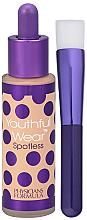 Fragrances, Perfumes, Cosmetics Foundation with Brush - Physicians Formula Youthful Wear Spotless Foundation SPF 15