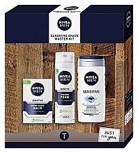Fragrances, Perfumes, Cosmetics Set - Nivea Sensetive Shave Master (sh/foam/200ml + sh/gel/250ml + a/sh/balm/100ml)