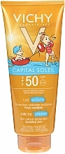 Fragrances, Perfumes, Cosmetics Sun Protection Kids Soft Milk - Vichy Capital Soleil Milk For Children SPF50