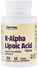 Fragrances, Perfumes, Cosmetics Alpha-lipoic Acid with Biotin - Jarrow Formulas R-Alpha Lipoic Acid + Biotin