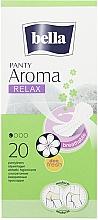 Fragrances, Perfumes, Cosmetics Pantiliners Panty Aroma Relax, 20 pcs - Bella