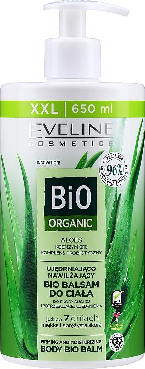 Aloe Vera Body Balm - Eveline Cosmetics Bio Organic Firming & Moisturizing Body Bio Balm Aloe Vera