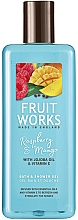 "Fragrances, Perfumes, Cosmetics Shower Gel ""Raspberry and Mango"" - Grace Cole Fruit Works Raspberry & Mango"