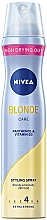 """Fragrances, Perfumes, Cosmetics Extra Strong Hold Hair Spray """"Luxurious Blond"""" - Nivea Styling Spray"""