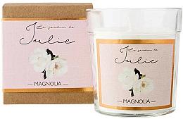Fragrances, Perfumes, Cosmetics Magnolia Scented Candle - Ambientair Le Jardin de Julie Magnolia
