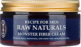 Fragrances, Perfumes, Cosmetics Hair Cream - Recipe For Men RAW Naturals Monster Fiber Cream