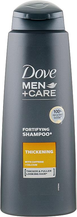 "Shampoo for Men ""Anti-Hair Loss"" - Dove Men+Care Thickening Shampoo"