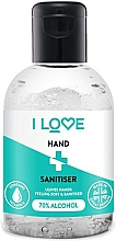 Fragrances, Perfumes, Cosmetics Hand Sanitizer - I Love Hand Sanitiser With 70% Alcohol