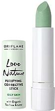"Fragrances, Perfumes, Cosmetics Antibacterial Concealer Pencil ""Tea Tree"" - Oriflame Love Nature"