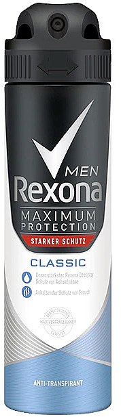 Dezodorant w sprayu o zapachu greipfruta z imbirem - Rexona Spray Men Active Fresh Deodorant