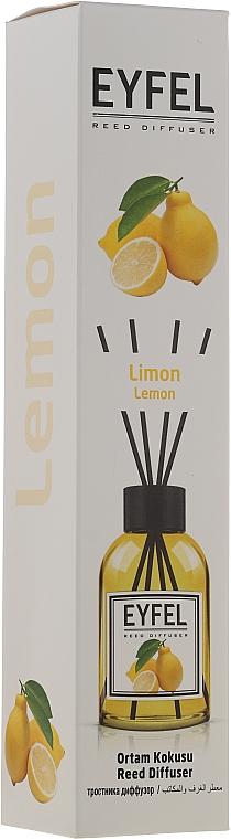 "Reed Diffuser ""Lemon"" - Eyfel Perfume Reed Diffuser Lemon"