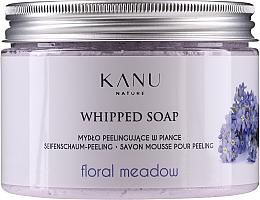 "Fragrances, Perfumes, Cosmetics Peeling Soap ""Floral Meadow"" - Kanu Nature Floral Meadow Peeling Soap"