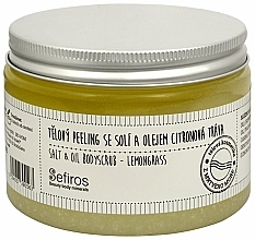 "Fragrances, Perfumes, Cosmetics Body Scrub ""Lemongrass"" - Sefiros Lemongrass Body Scrub"