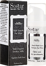 Fragrances, Perfumes, Cosmetics Men Hair Serum - Sostar Donkey Milk Men Anti-Hair Loss Serum