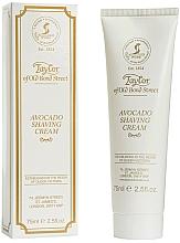 "Fragrances, Perfumes, Cosmetics Shaving Cream ""Avocado"" - Taylor of Old Bond Street Avocado Luxury Shaving Cream (in tube)"