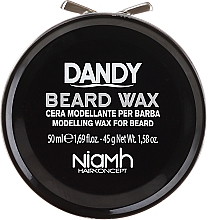 Fragrances, Perfumes, Cosmetics Beard and Moustache Styling Wax - Niamh Hairconcept Dandy Beard Wax Modelling