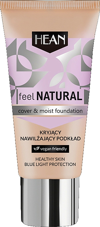 Moisturizing Foundation - Hean Feel Natural Cover & Moist Foundation