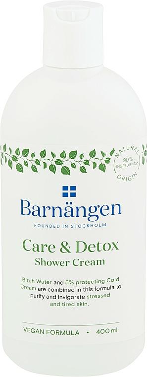 "Shower & Bath Cream-Gel ""Detox and Care"" - Barnangen Care & Detox Shower Cream"