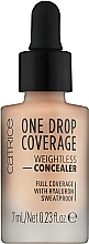 Fragrances, Perfumes, Cosmetics Concealer - Catrice One Drop Coverage Weightless Concealer