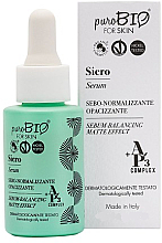 Fragrances, Perfumes, Cosmetics PuroBio Cosmetics Face Serum - Balancing Matte Effect