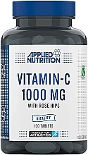 """Fragrances, Perfumes, Cosmetics Dietary Supplement """"Vitamin C"""" 1000 mg, 100 tablets - Applied Nutrition Vitamin C With Rose Hips 1000mg"""
