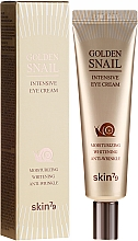 Fragrances, Perfumes, Cosmetics Anti-Aging Eye Cream with Snail Mucus and Gold - Skin79 Golden Snail Intensive Eye