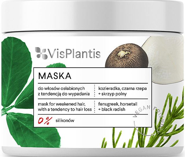 Weak Hair Mask - Vis Plantis Mask