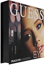 Fragrances, Perfumes, Cosmetics Set - Guess Beauty Peach 101 Eye Lookbook (mascara/4ml + eyeliner/0.5g + 12xeye/sh/1.96g)