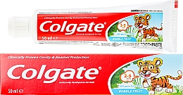 Fragrances, Perfumes, Cosmetics Kids Toothpaste 2-3 years - Colgate Toddler Bubble Fruit Anticavity Toothpaste For 2-5 Years Kids