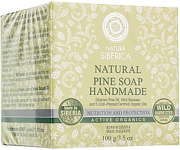 "Fragrances, Perfumes, Cosmetics Handmade Cedar Soap ""Nutrition & Protection"" - Natura Siberica"