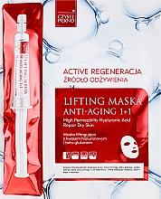 Fragrances, Perfumes, Cosmetics Face Mask + Serum - Czyste Piekno Active Regeneration + Serum