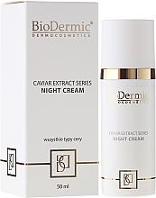 Fragrances, Perfumes, Cosmetics Night Face Cream - BioDermic Caviar Extract Night Cream